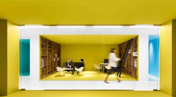 telus garden offices office mcfarlane. playster office, montreal / canada, by acdf architecture telus garden offices office mcfarlane