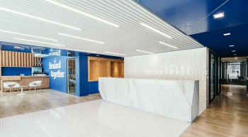 google moscow office pure. Dplus Intertrade Head Office, Bangkok / Thailand, By Pure Architect Google Moscow Office